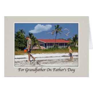 Farfar fars dag hälsningskort