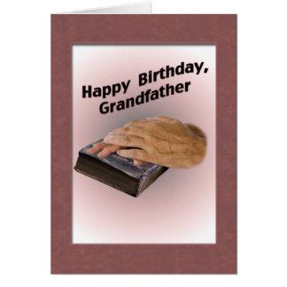 Farfar födelsedagkort hälsningskort