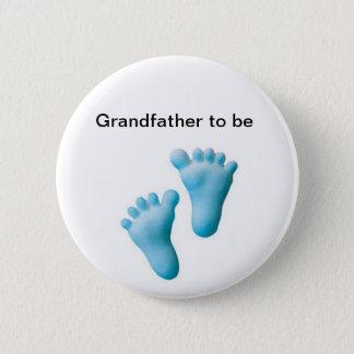 Farfar som är standard knapp rund 5.7 cm
