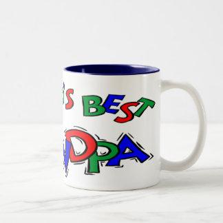 Farfarfars daggåvor kaffe kopp