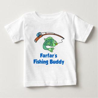 Farfars fiskekompis tee shirts