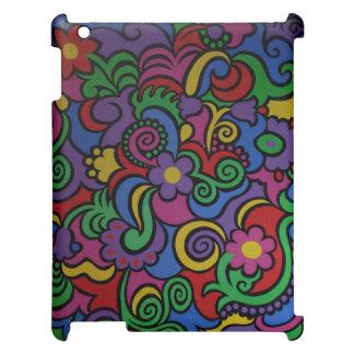 Färg blommar Trival iPad Skydd