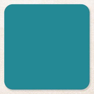 Färg för ändring för BLÅTTmallen DIY TILLFOGAR Underlägg Papper Kvadrat