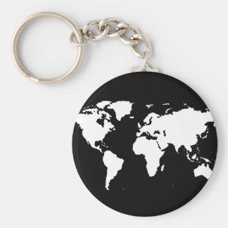 färg för anpassade för världskartor~ rund nyckelring