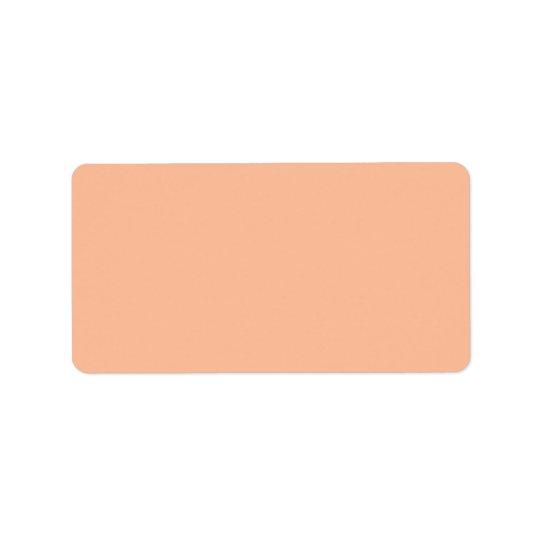 Färg för kräm för personlig för adressetikett