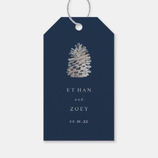 Färg för pinecone för PixDezines Presentetikett