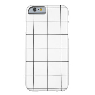 Färg för PixDezines raster/monochrome/DIY Barely There iPhone 6 Skal