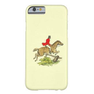 Färg för ridning för häst för jägare för barely there iPhone 6 skal