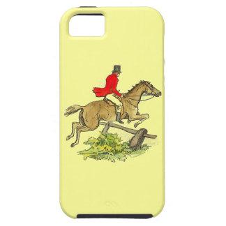 Färg för ridning för häst för jägare för tough iPhone 5 fodral