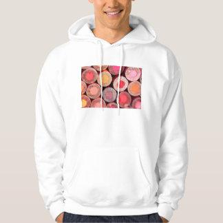 Färg ritar sweatshirt med luva
