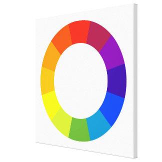 färg rullar canvastryck