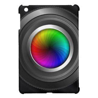 Färg rullar fodral för kortkortet för iPad för iPad Mini Skal