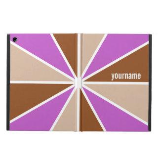 Färg rullar/för strålar beställnings- monogramcase iPad air fodral