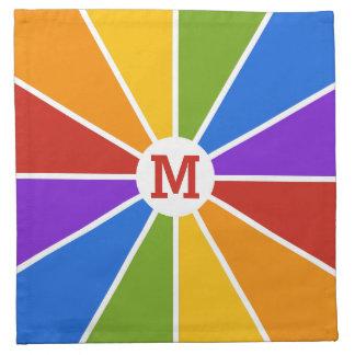 Färg rullar/för strålar beställnings- servetter fö