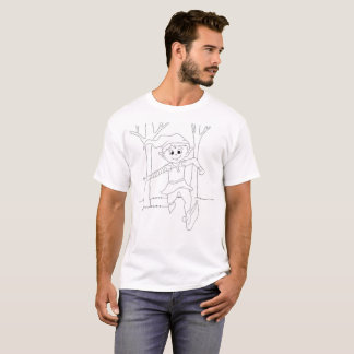 Färga mig: E är för älva T-shirts