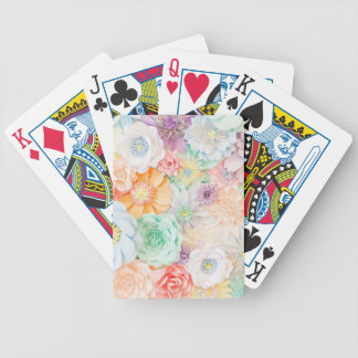 Färgad pastell leka kort spelkort