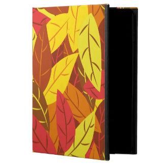 Färgade varma löv för höst mönster powis iPad air 2 skal