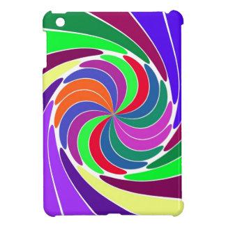 Färgaden virvlar runt det mini- iPadfodral - anpas iPad Mini Mobil Skydd