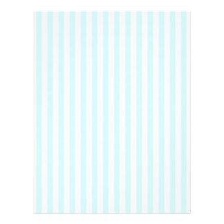 Färgar baby blue pastell för vintage randmönster reklamblad 21,5 x 30 cm