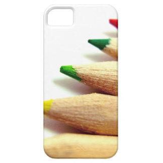 färgat ritar konstnärillustratören iPhone 5 fodral