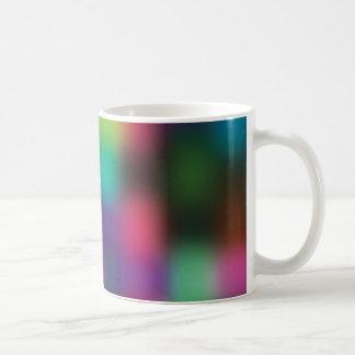 Färgblur Kaffemugg