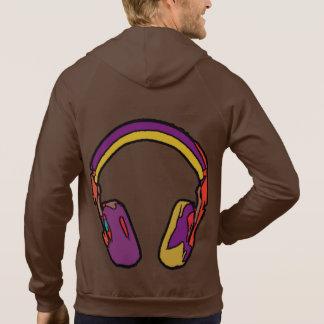 färgdj-headphone munkjacka