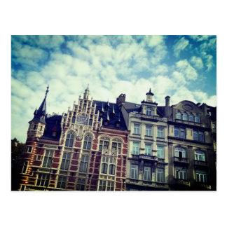 Färger av Belgien Vykort