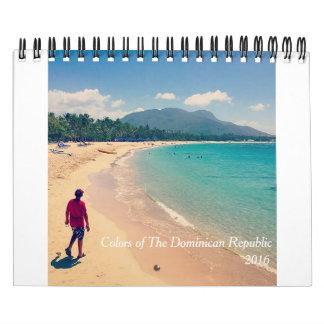 Färger av Dominikanska republiken Kalender