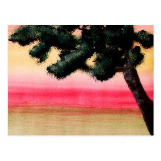 Färger av liv vykort