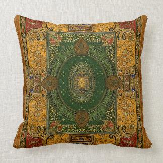 Färger av mellan östern dekorativ kudde