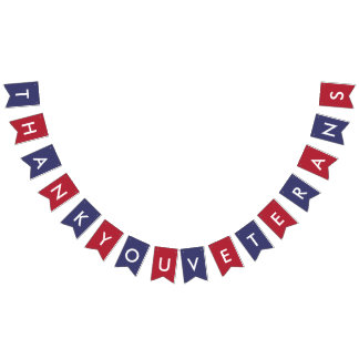 Färger för amerikanska flaggan för vimplar