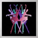 Färger för dansdansdans posters