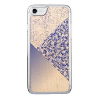 Färger för sportar för ande för blått- och carved iPhone 7 skal