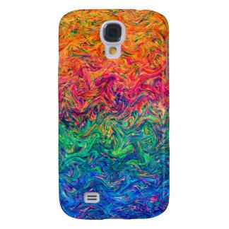 Färger för vätska för Samsung galax S4 knappt där Galaxy S4 Fodral