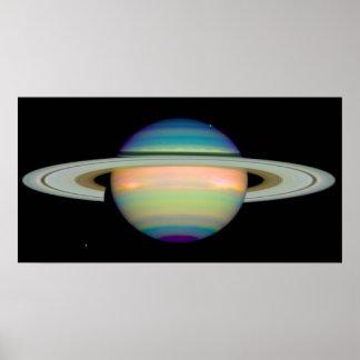 Färgerna av Saturn Poster