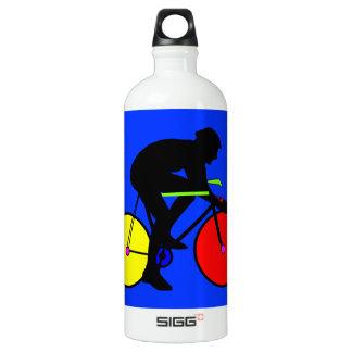 Färgglad skraj mång- färgad cykel