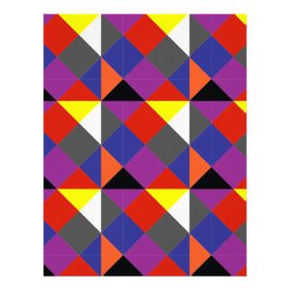 Färgglada Pierrot Brevhuvud