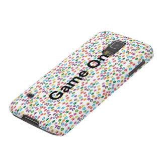Färgglatt fodral för spökenSamsung galax S5 Galaxy S5 Fodral