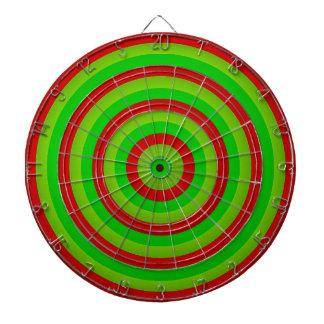 Färgglatt koncentriskt cirklar dartboarden piltavla