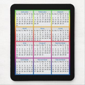 Färgglatt Mus-vaddera kalendern för 2016 Mus Mattor