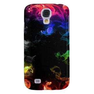 Färgglatt röka iphone case galaxy s4 fodral