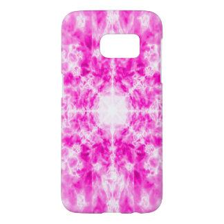 Färgglatt rosa kaleidoscopemönster galaxy s5 skal