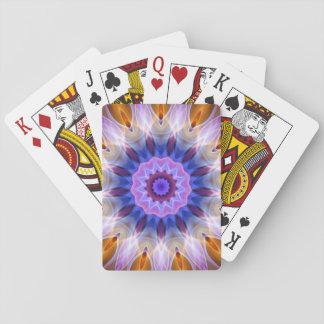 Färgglatt vinkar spel kort