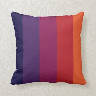 färgkombinationsranden kudder kudde