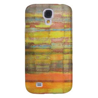 Färgkonstmönster Galaxy S4 Fodral