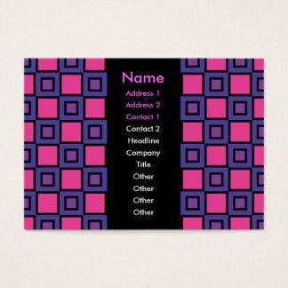 Färglilavisitkorten Visitkort