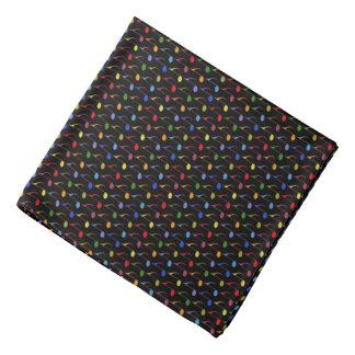 färgmusik notermönster scarf