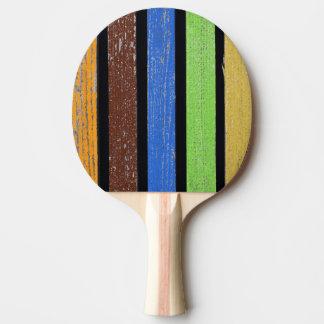 Färgpingen Pong paddlar, röd gummibaksida Pingisracket