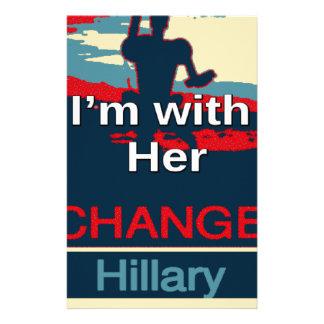 Färgrik 2016 röstar jag förmiddagen med henne för brevpapper