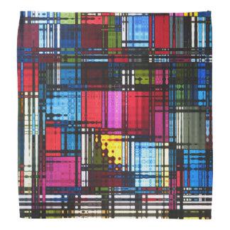 Färgrik abstrakt Bandana